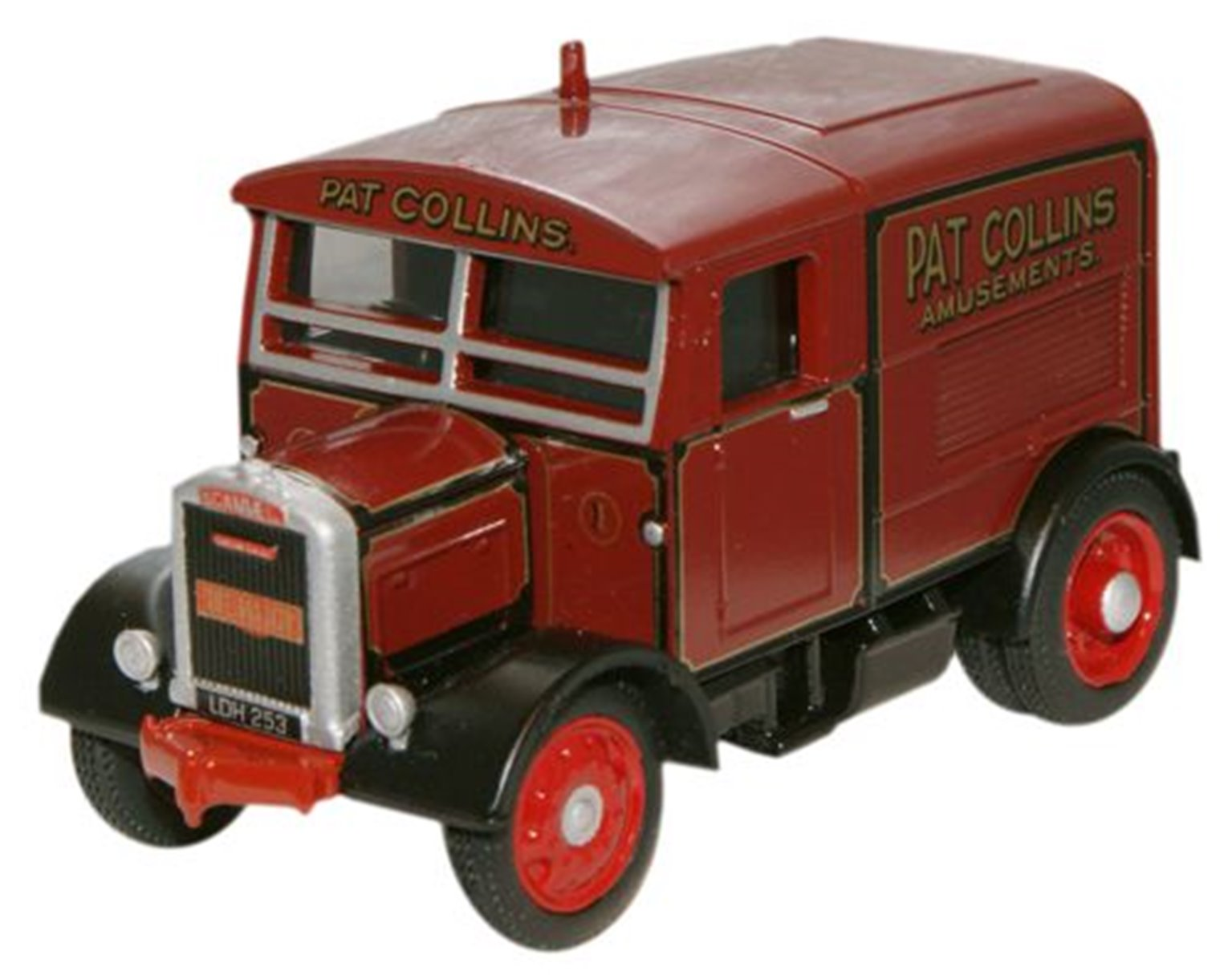 Pat Collins The Major Scammell Showtrac