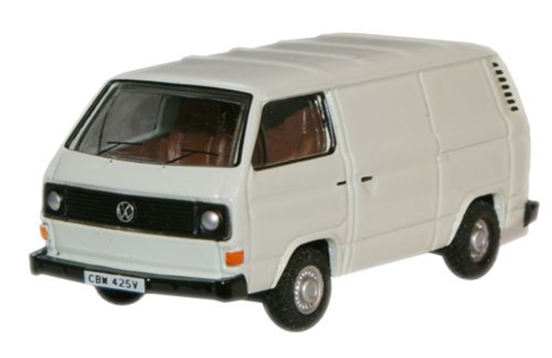 Pastel White VW T25 Van