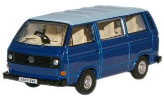 Cornat Blue Guinea Blue VW T25 Bus