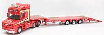 Scania T Cab 3 Axle Nooteboom Semi Low Loader Sandy Kydd