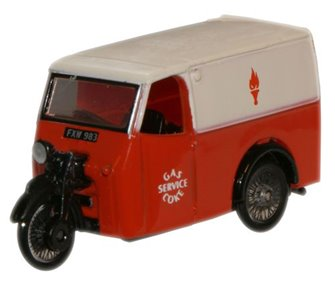 Gas and Coke Service Tricycle Van