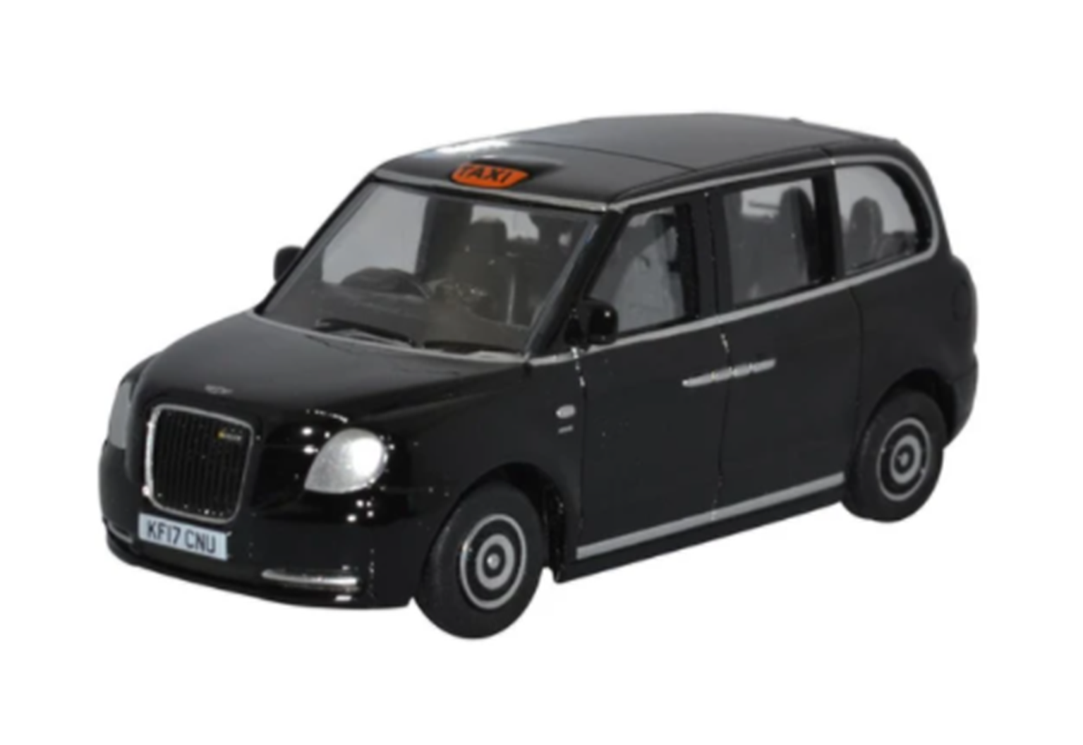 76TX5001 TX5 LEVC Electric Taxi Black