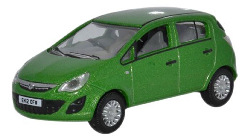 Lime Green Vauxhall Corsa