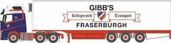 Volvo FH4 GXL 2013 Fridge Trailer Gibbs of Fraserburgh