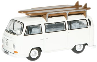 Pastel White VW Bus