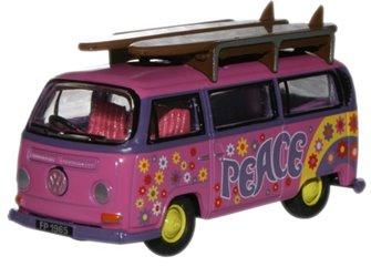 VW Minibus Surfboards Flower Power