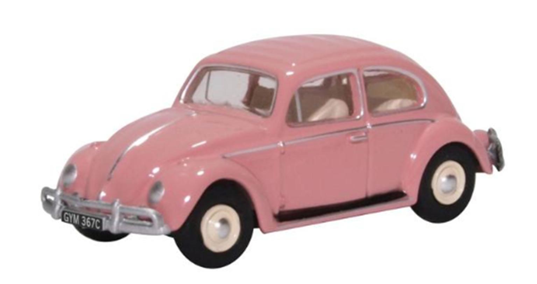 76VWB011UK Volkswagen Beetle Pink UK Registration