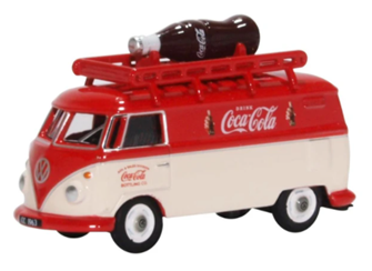 76VWS007CC Volkswagen Split Screen T1 Van Bottle Coca Cola