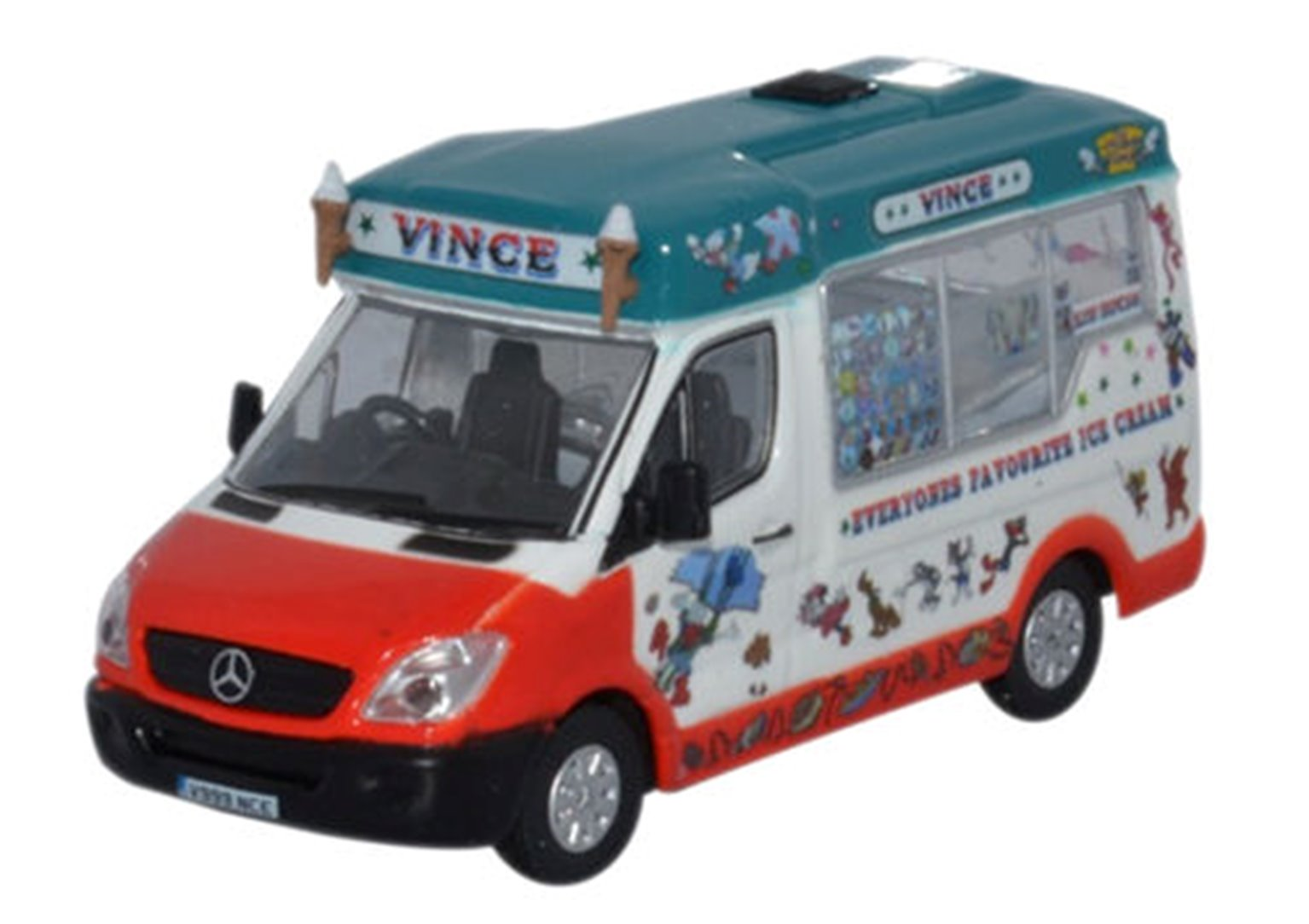 Mercedes Whitby Mondial Ice Cream Vinces