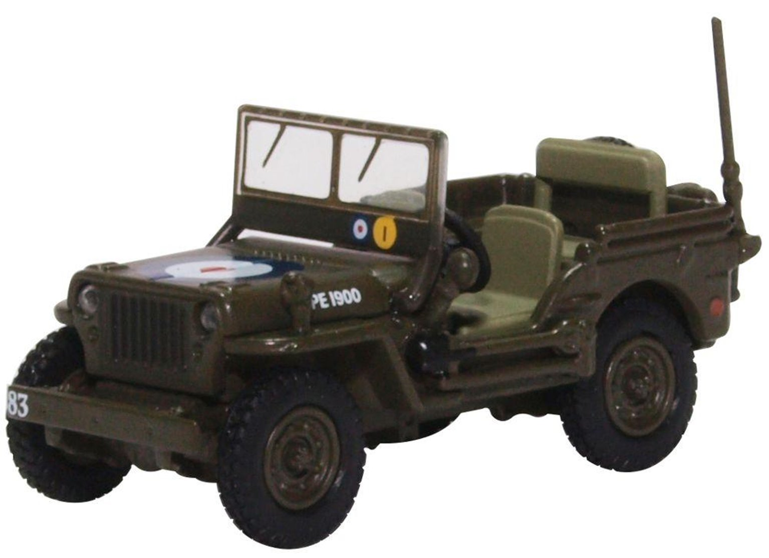 76WMB004 Willys MB RAF 83 Grp.2nd Tactical AF 1944/5
