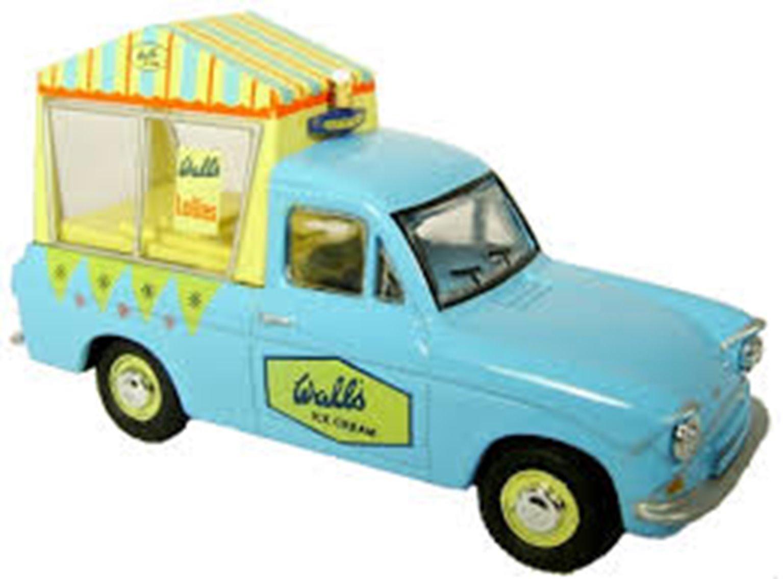 Ford Anglia Van Walls Ice Cream Little Man