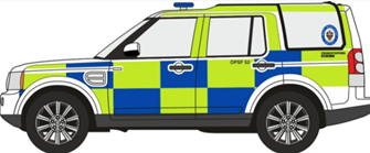 Land Rover Discovery 4 West Midlands Police