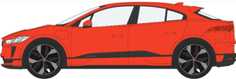 Jaguar I Pace Photon Red