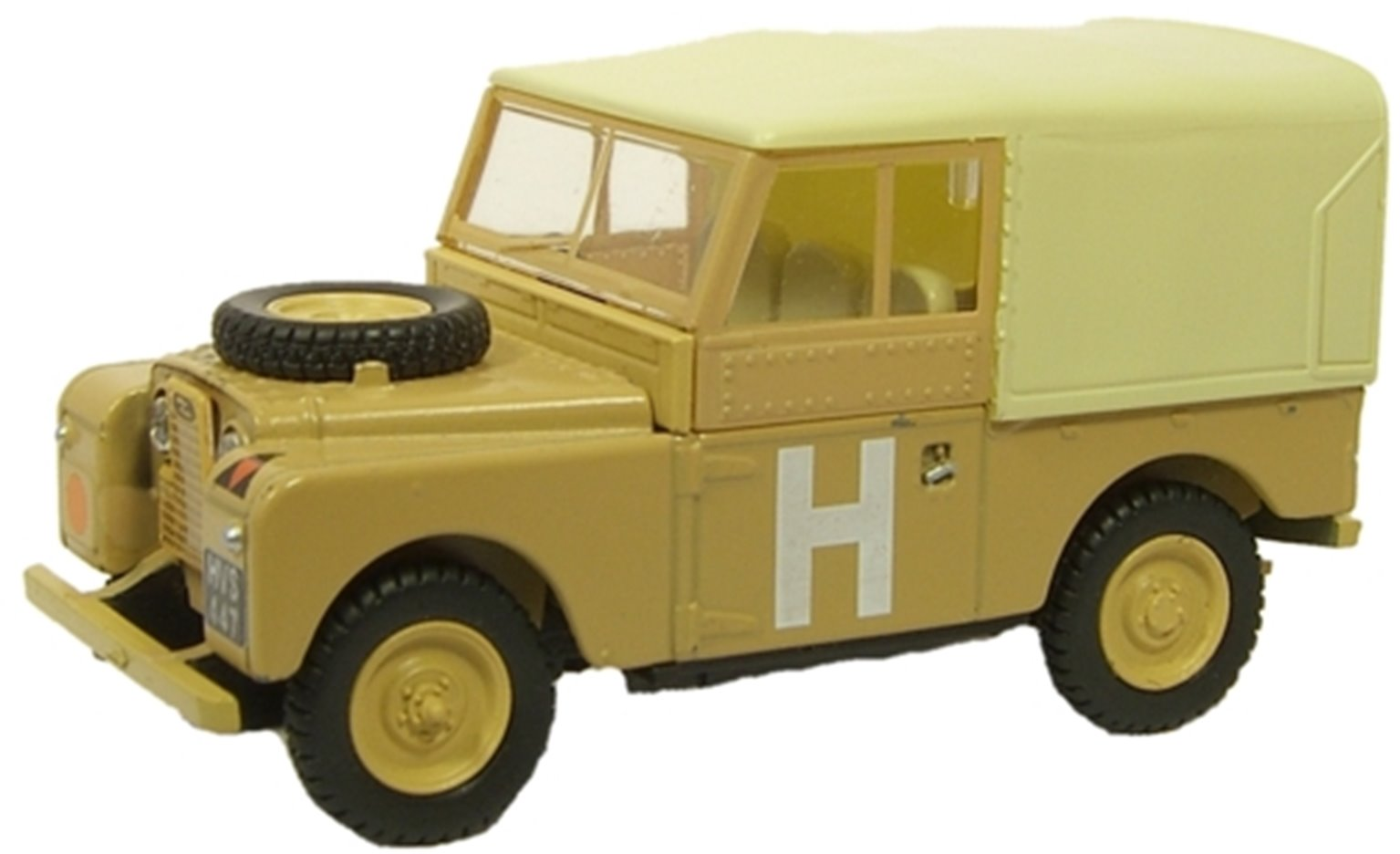 Land Rover Sand Military