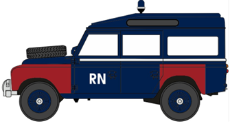 Land Rover Series II LWB Station Wagon Navy Bomb Disposal