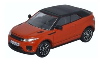 Range Rover Evoque Convertible Phoenix Orange
