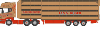 *Scania Houghton Parkhouse Livestock Transporter Ian Roger