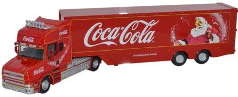 Coca Cola Scania T Cab Christmas Truck