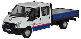 76TPU003 Ford Transit Dropside London Underground
