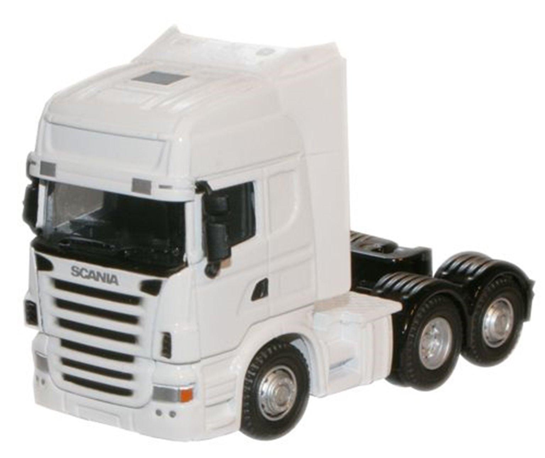 Scania cab - plain white (no livery or operator)