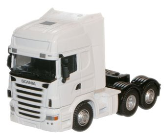 Scania cab - plain white (no livery or operator)