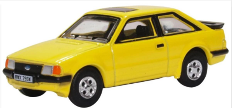 Ford Escort XR3i Prairie Yellow