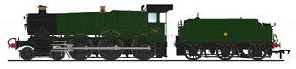 'Anthony Manor' GWR Green Manor Class 4-6-0 Steam Locomotive No.7801 (DCC Sound)
