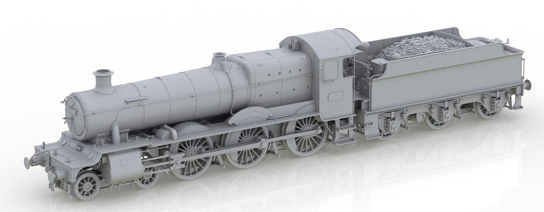 'Torquay Manor' BR Green (Late Crest) Manor Class 4-6-0 Steam Locomotive No.7800 (DCC Sound)