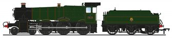 'Draycott Manor' BR Green (Early Crest) Manor Class 4-6-0 Steam Locomotive No.7810