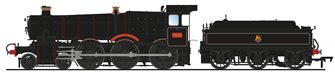 'Dinmore Manor' BR Black (Early Crest) Manor Class 4-6-0 Steam Locomotive No.7820