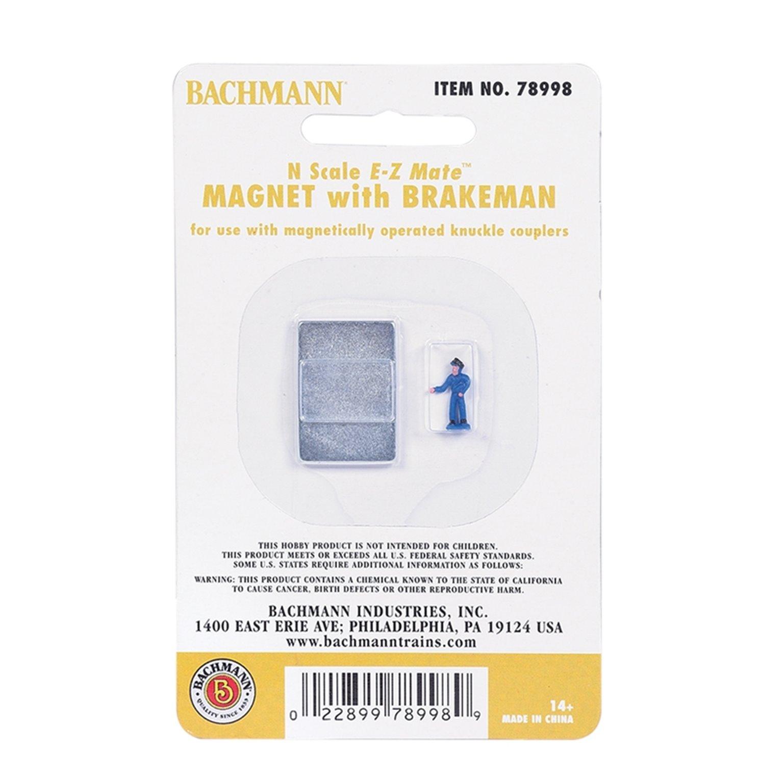 Magnet with Brakeman Figure