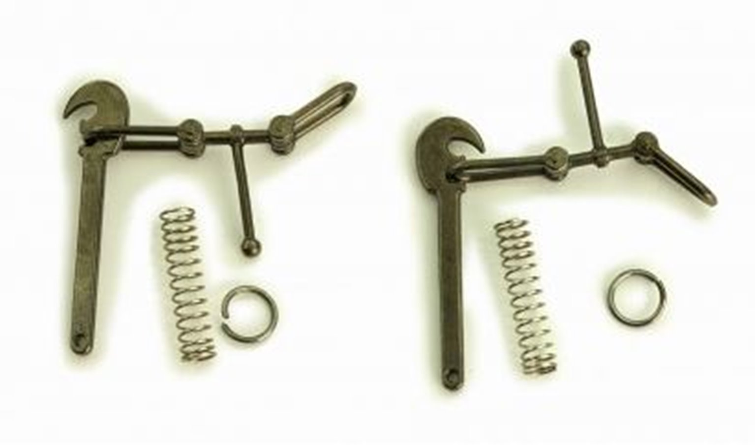 Screw Link Coupling & Drawbar Hook - 5 Pairs