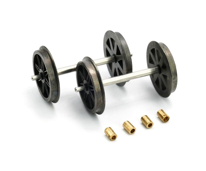 Wheels Spoked x 2 Axles