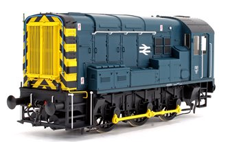 Class 08 BR Blue Inverness Unnumbered Diesel Shunter Locomotive