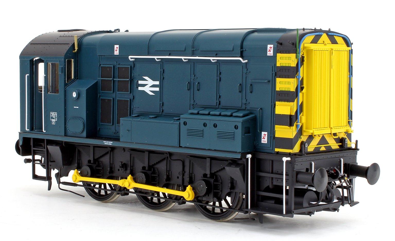 Class 08 BR Blue Inverness Unnumbered Diesel Shunter Locomotive