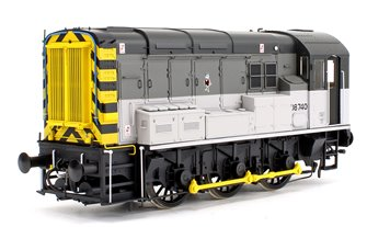 Class 08 740 Railfreight Triple Grey Stratford Diesel Shunter Locomotive