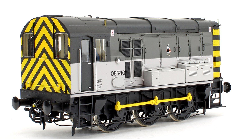 Class 08 740 Railfreight Triple Grey Stratford Diesel Shunter Locomotive