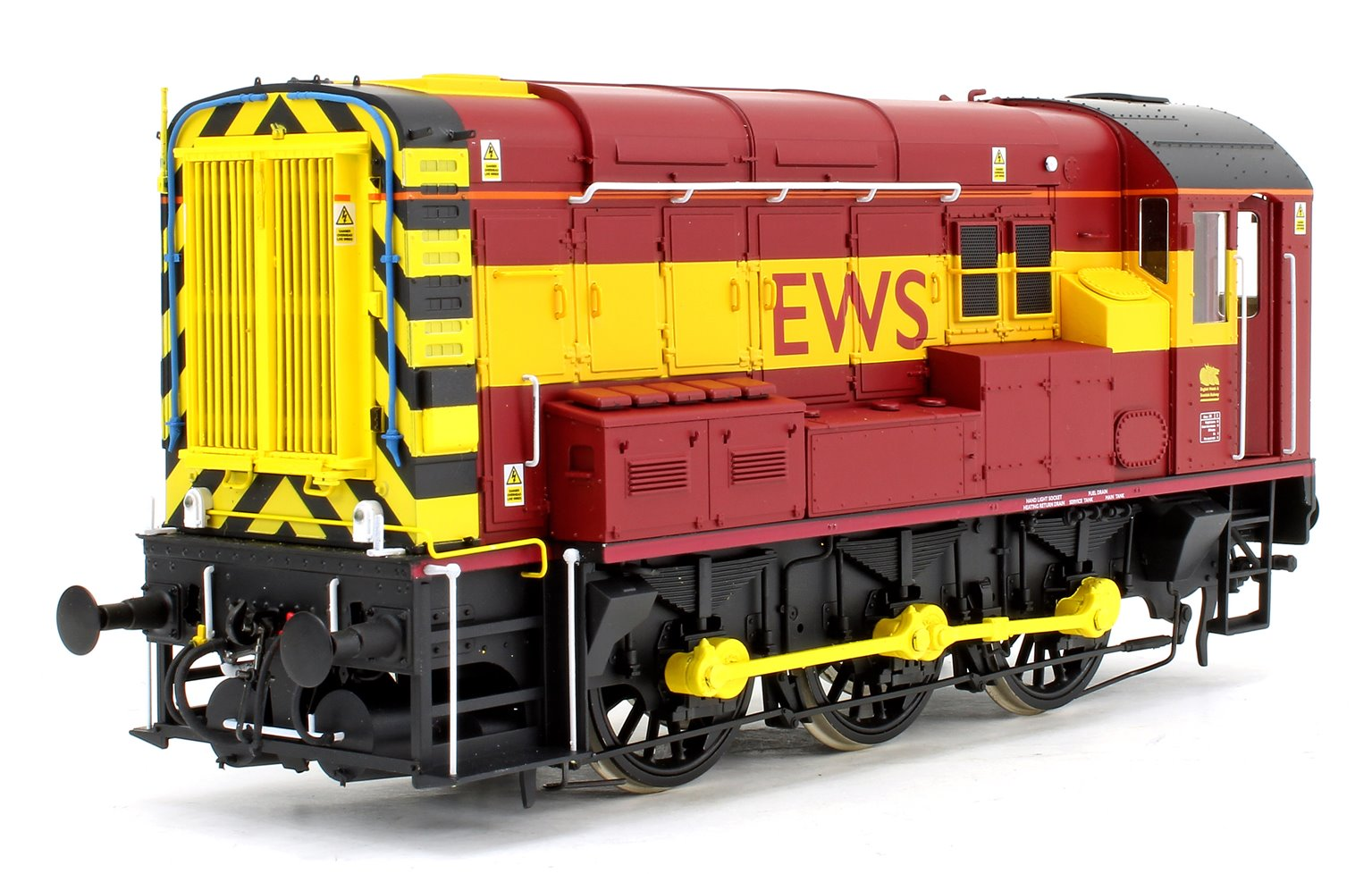 Class 08 EWS Unnumbered Diesel Shunter Locomotive - DCC Fitted Sound