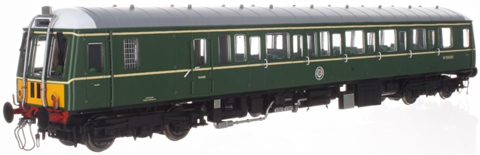 Class 122 55000 BR Green (SYP) - DCC Sound