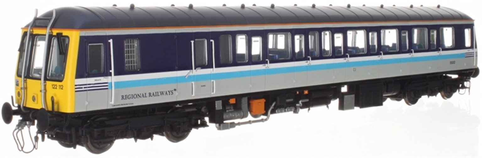 Class 122 55012 Regional Railways - DCC Fitted