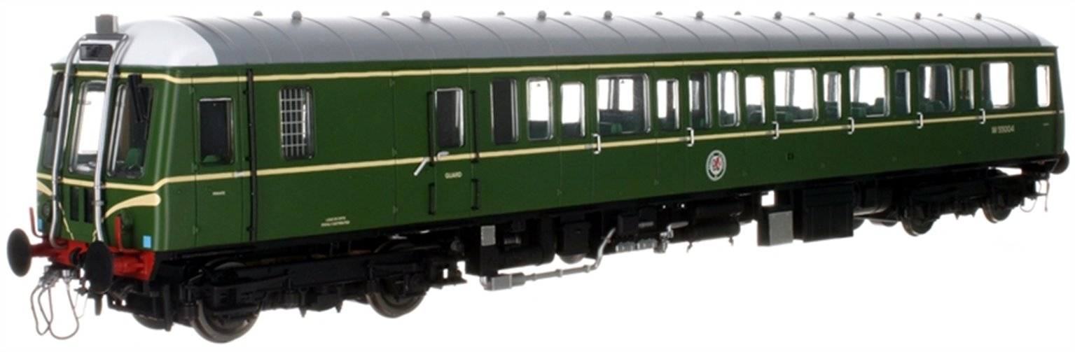 Class 122 55004 BR Green (Speed Whiskers) - DCC Fitted