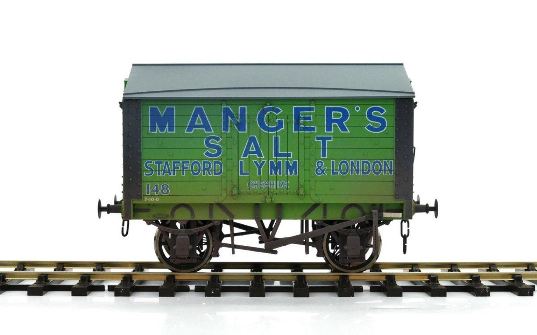 Salt Van Mangers Salt 148 Weathered