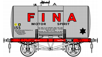 14T FINA # 155 Class A Anchor Mounted Tank