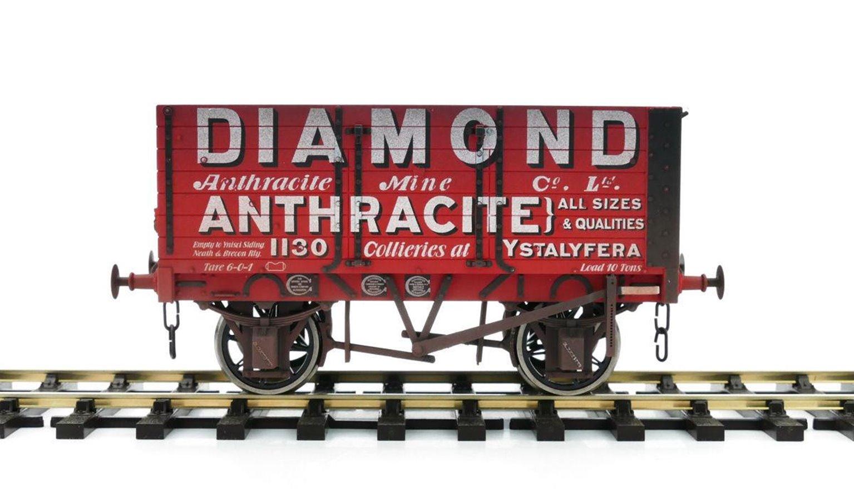 7 Plank Wagon 9' Wheelbase Diamond 1130 Weathered