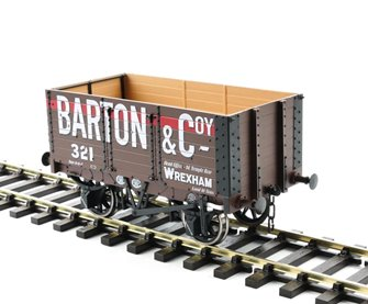 7 Plank Wagon 9' Wheelbase 3 Door Barton & Coy 321