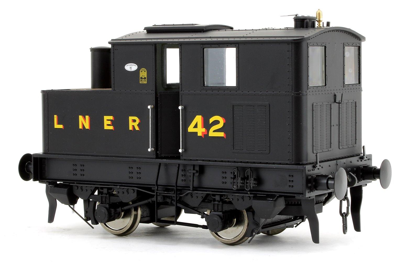 Y3 Sentinel 4wVB No.42 in LNER Black
