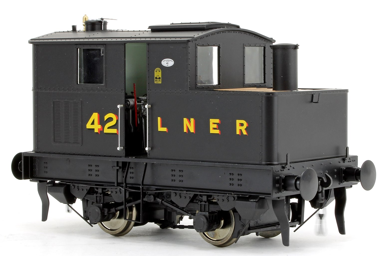 Y3 Sentinel 4wVB No.42 in LNER Black - DCC Fitted