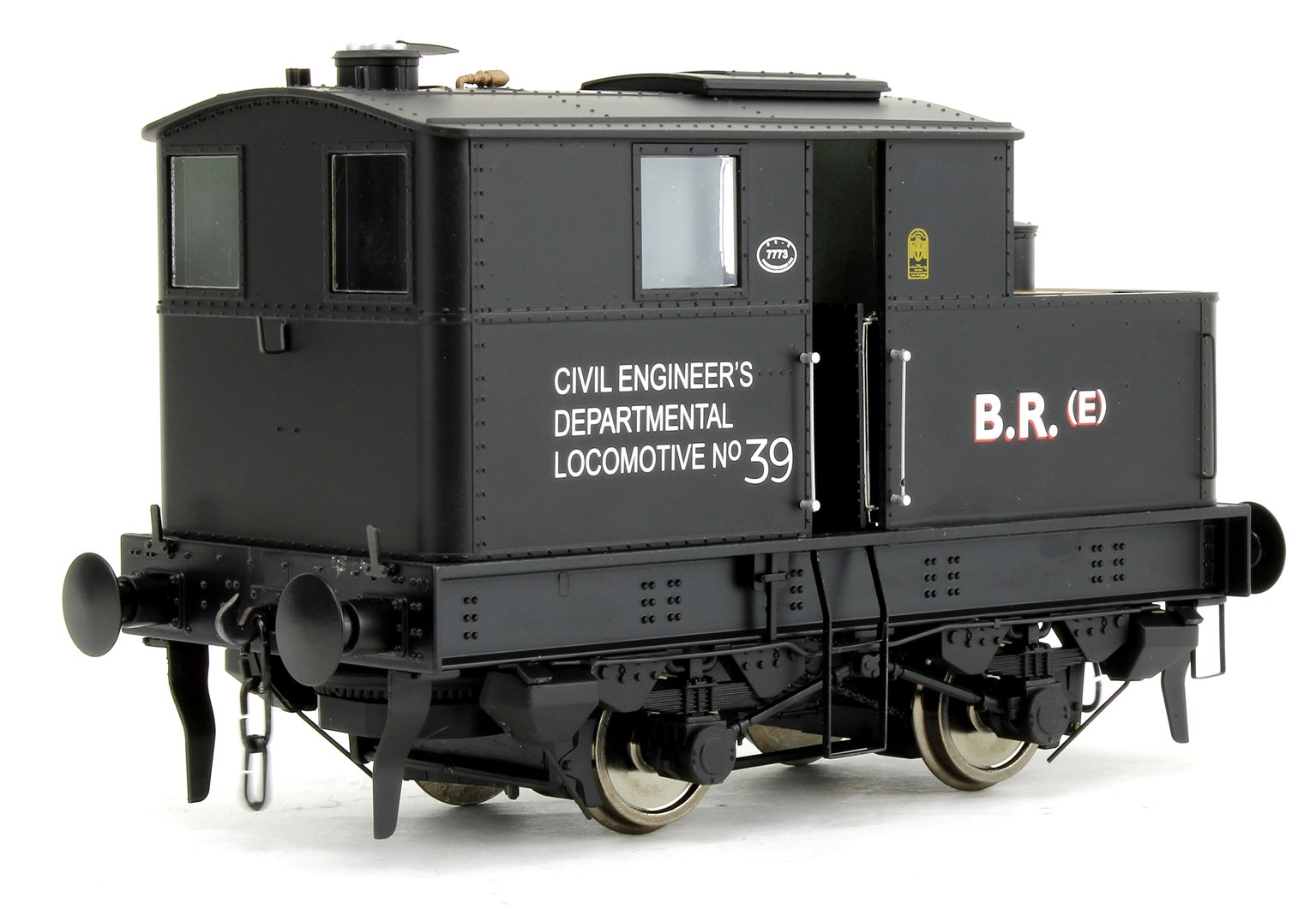 Y3 Sentinel 4wVB BR Early Crest Dept 39 - DCC Fitted with Sound