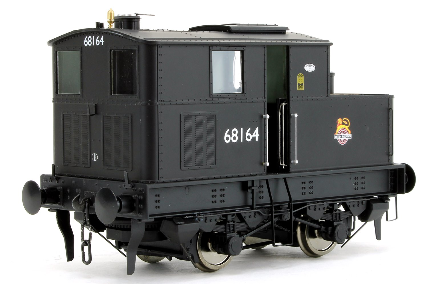 Y3 Sentinel 4wVB No.68164 in Early BR Livery - DCC Fitted