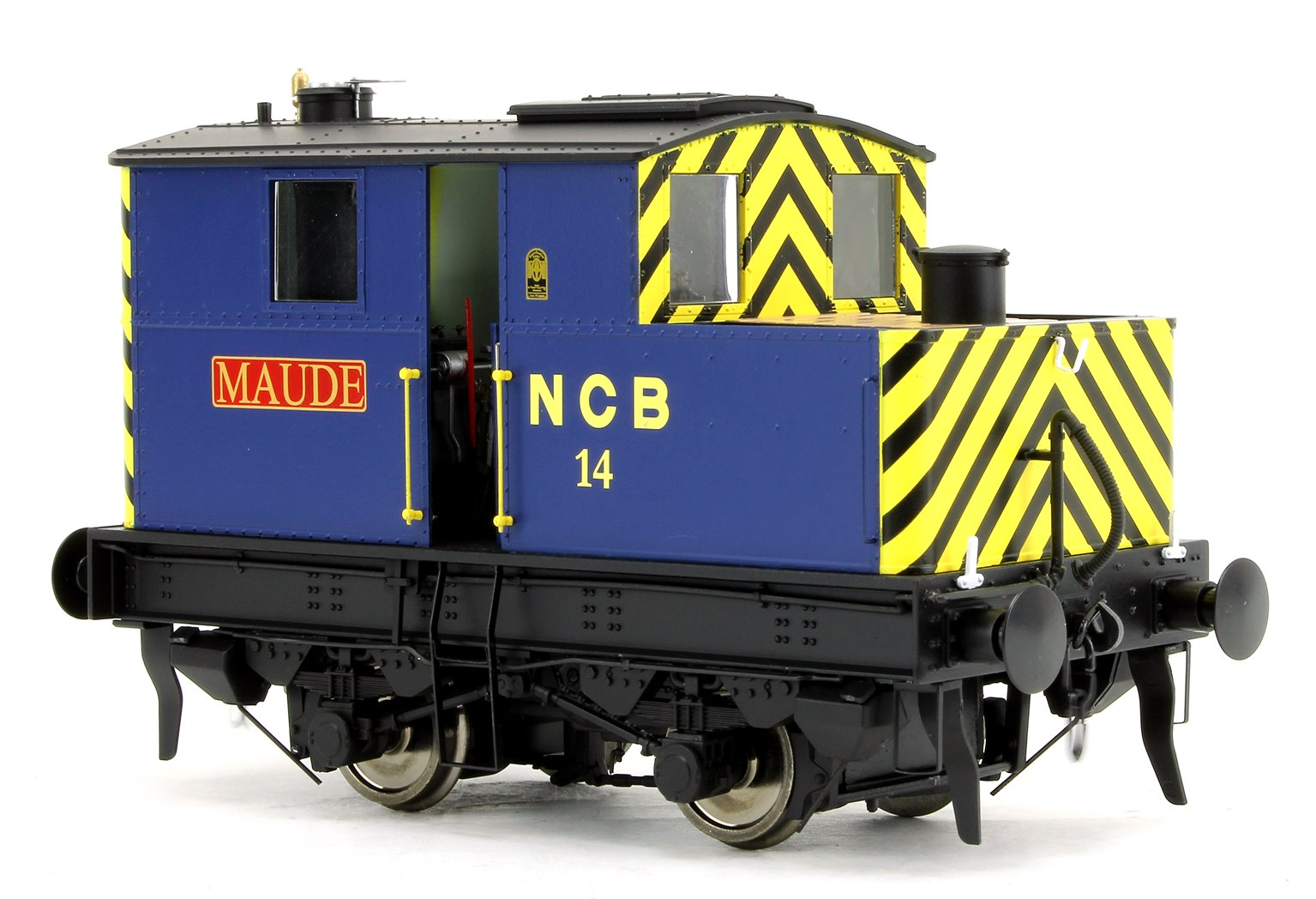 Sentinel 4wVB No.14 in National Coal Board livery 'Maude'